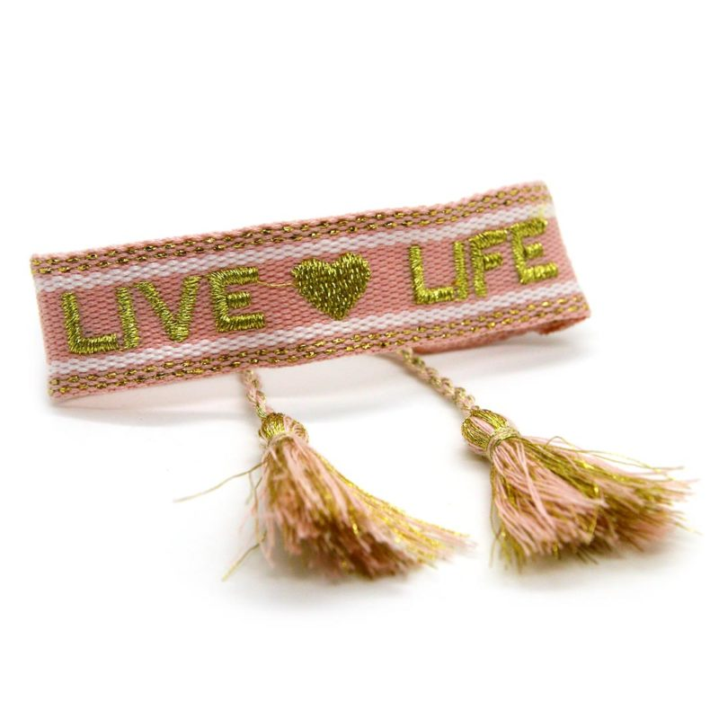 "STOFFBAND ""Live & Life"""