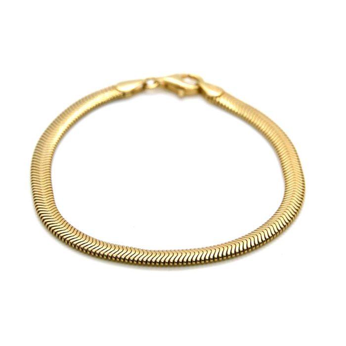 "Armband ""Snake"" 4,2 cm breit"