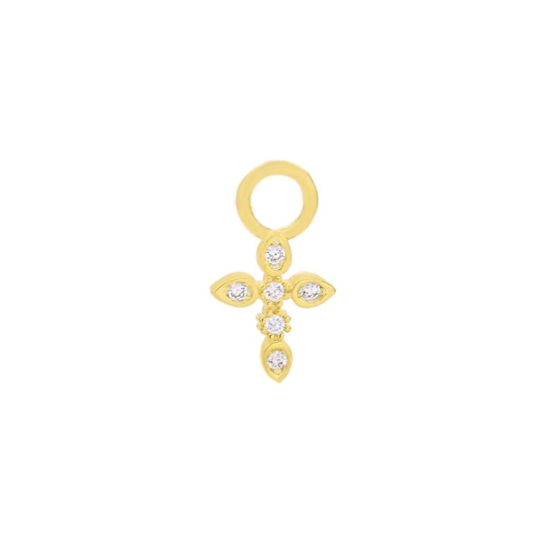 "CHARM ""goldplattiert"" Cross"