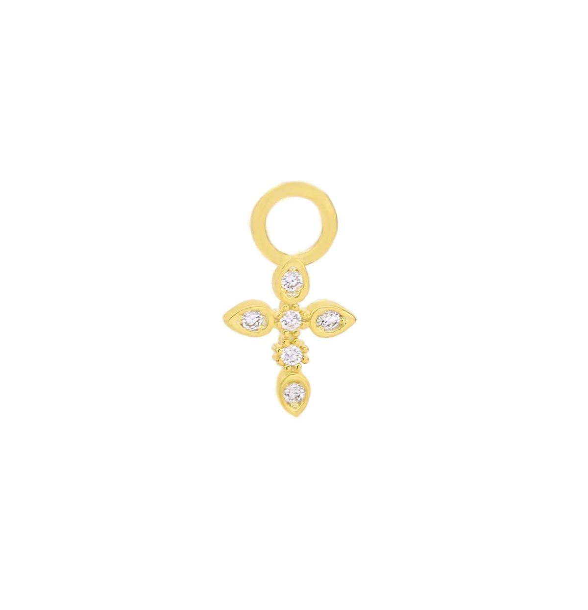 BANDERY Ohrringe Charm Cross