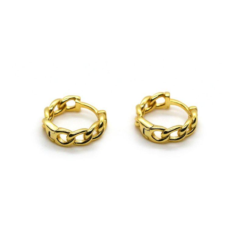 """OHRRING """"Chain Hoops"""" small"""